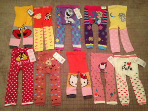 NEW!!  Leggings, leg Warmers, headbands and foot flowers