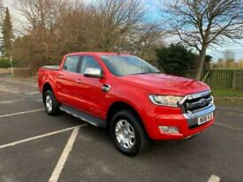 2016 Ford Ranger 2.2 TDCi Limited 1 Double Cab Pickup 4WD (s/s) 4dr (Eco Axle) P