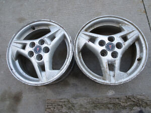 A Pair of PONTIAC RIM Kitchener / Waterloo Kitchener Area image 1