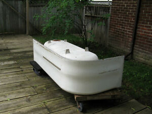 Very Heavy Old Cast Iron Bath Tub for Metal Scrappers