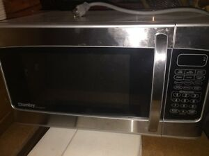 Stainless microwaves