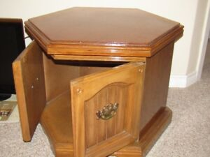 End table/TV table & small coffee table & Tea Trolley