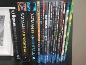 Batman & Superman Trade Paperbacks lot