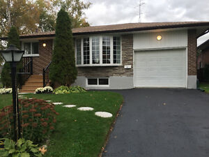 Upper Level in Donovan Area (Oshawa) for rent $1500