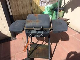 Gas BBQ with gas