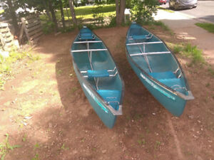 17 ft Coleman Canoes