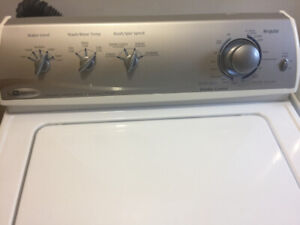 Maytag heavy duty super cycle washer and dryer 600.00