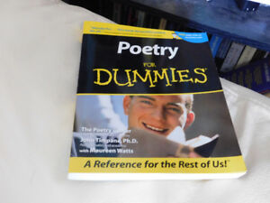 Poetry For Dummies - BOOK, GOOD CONDITION