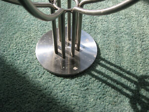 IKEA Candelabra Stainless Steel Candle Holder Used West Island Greater Montréal image 4