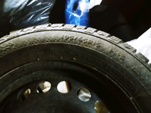 """Selling 15"""" Snow Tires"""