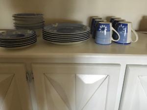 Service de vaisselle 24 pièces