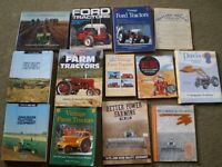 Vintage Tractor books