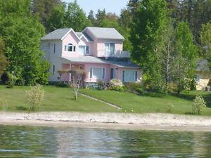 Maison à vendre sur les rives du Lac-Saint-Jean