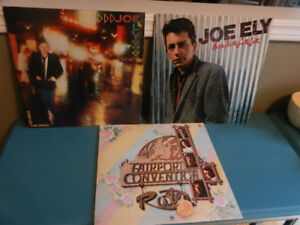 Vinyl Records Country Rock Lot of 5