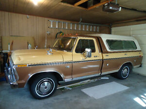 1975 Ford Ranger XLT F-100 with 33,401 Original Miles!