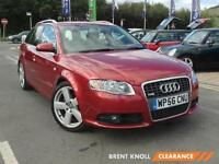 2007 AUDI A4 2.0 TDi 170 S Line Low Miles Isofix 6 Speed Climate Control