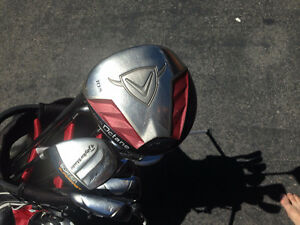 Left handed TaylorMade, Calloway, Odyssey clubs