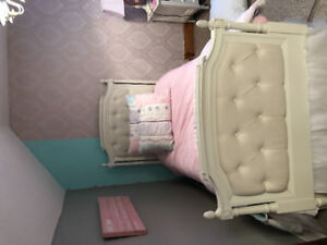 Pottery barn kids Blythe twin bed and trundle and more
