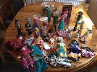 31 vintage/ antique rear doll collectors dolls