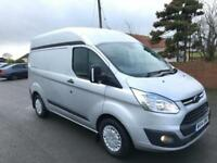 2014 14 FORD TRANSIT CUSTOM 125 310 TDCI TREND L2 H2 MOBILE WORKSHOP AIR CON
