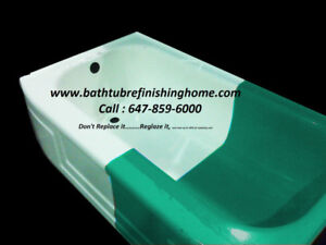 Bathtub reglazing,refinishing,resurfacing,repair,redo​