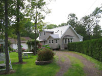 WATERFRONT ON GRAND LAKE/HOUSE 2.11 ACRES, GARAGE