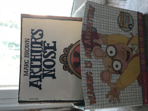 Arthur children's books including the first book.