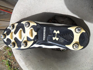 Size 13 Under Armour cleets