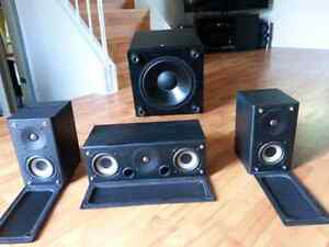 High Quality Powered Sub Woofer & Speakers