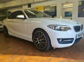 image for 2014 BMW 2 Series 2.0 220d Sport (s/s) 2dr Coupe Diesel Manual