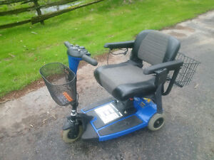 Sonic, Pride Mobility Scooter