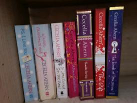 Cecelia Ahern Books x 7