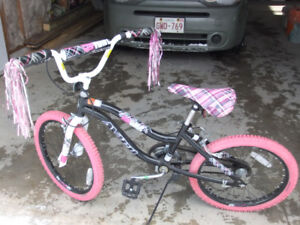 "Two girls 20"" bikes for sale"
