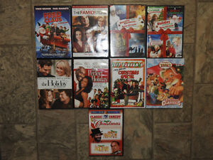 Christmas / holiday movies - ALL for $12