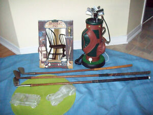 Vintage Golf clubs/Golf PHONE/FRAME+Crystal Cars* SEE EACH PRICE
