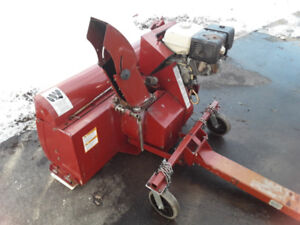 Atv snowblower.  13 hp honda engine