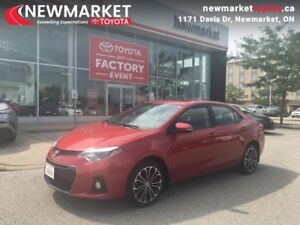 2014 Toyota Corolla S  - trade-in - Certified - $52.09 /Week