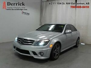 2009 Mercedes Benz C-Class   Used 6.3L AMG Low Mileage Nav Sunro
