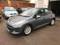 2009/58 Peugeot 207 1.4 S 5dr h/b ONLY 58677 Miles £3195
