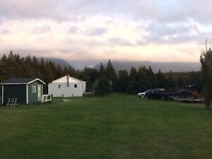 Land and cabin for sale
