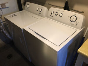 Amana Washer and Drier set. Like NEW