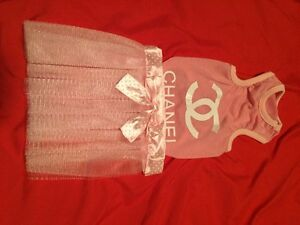 New Chanel dog clothes