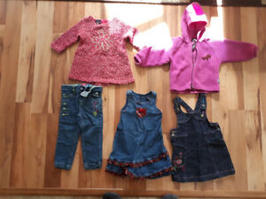 Vêtements fillette 18M-24M-2 ANS