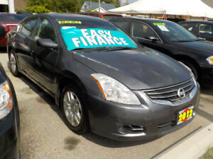 2012 NISSAN ALTIMA 2.5S - SUNROOF (ONLY 141 KM'S)