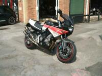 Yamaha TRX850 Restomod Ohlins Custom Paint One Off Exhaust