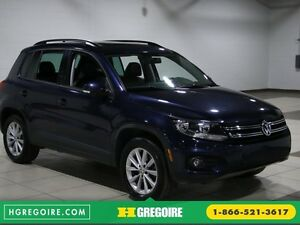 2012 Volkswagen Tiguan COMFORTLINE AWD AUTO A/C CUIR TOIT PANO M