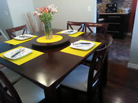 DINING SET - 8 Chairs
