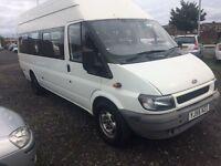 FORD TRANSIT MINIBUS 350LWB JUMBO 2.4 TDCi (55)REG FULL DISABLED ACCESS WITH TAIL LIFT