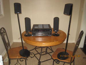 Pioneer THX Select 2 Surround Amplifier with Polk Audio Speakers