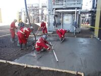 Industrial Concrete Finisher and Carpenter